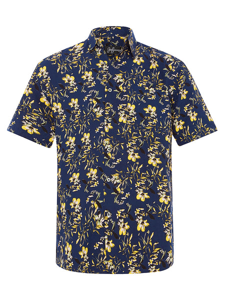 Garden of William Silk S/S Shirt