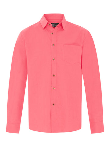 Watermelon Linen L/S Shirt