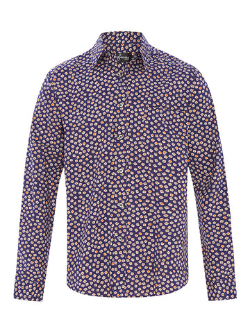 Manly Mosaic Cotton L/S Shirt