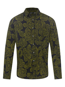 Cassio's Cloth L/S Silk Shirt