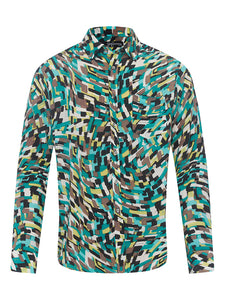 Sticks N Pops L/S Silk Shirt