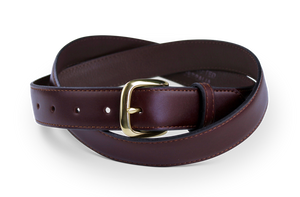 Red Gum Top End Water Buffalo Hide Belt