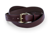 Red Gum Cowhide Belt