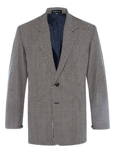 Wheat Houndstooth Jacket