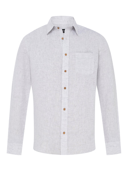 Putty Linen L/S Shirt