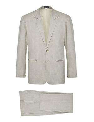 Stone Non Crush Linen Suit