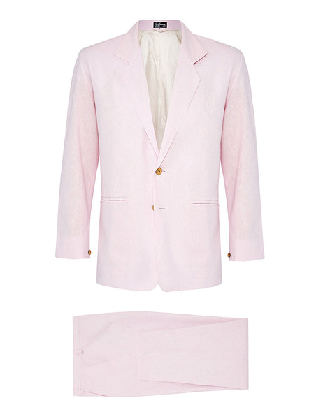 Marshmallow Linen Suit