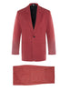 Newport Yacht Club Red Silk Twill Suit