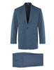 Blue Denim Non Crush Linen Suit
