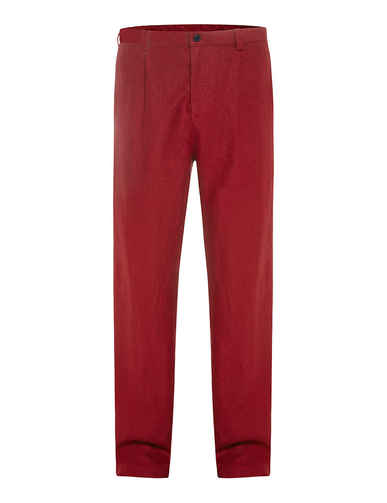 Newport Yacht Club Linen Trousers