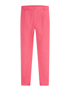 Watermelon Non Crush Linen Trousers