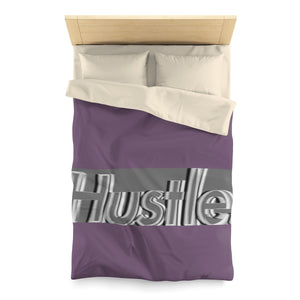 [ HUSTLE. ] MIDNIGHT PURPLE DUVET COVER - Hustle Culture | Official Store