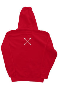 """ALPHA"" HUSTLE. PREMIUM HOODIE (RED) - Hustle Culture 