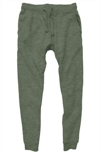 """ALPHA"" HUSTLE. PREMIUM JOGGERS (MILITARY GREEN) - Hustle Culture 
