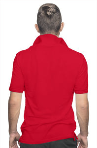 """CEO"" HUSTLE. POLO SHIRT (RED) - Hustle Culture 
