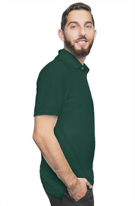 """CEO"" HUSTLE. POLO SHIRT (FOREST GREEN) - Hustle Culture 