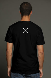 """ALPHA"" HUSTLE. PREMIUM TRI-BLEND T-SHIRT (BLACK) - Hustle Culture 