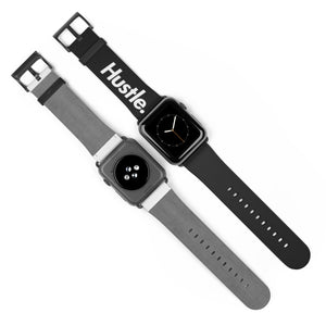 HUSTLE. WATCH BAND [ BLACK/GOLD ] - Hustle Culture | Official Store
