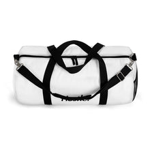 Load image into Gallery viewer, HUSTLE. DUFFLE [ WHITE ] - Hustle Culture | Official Store