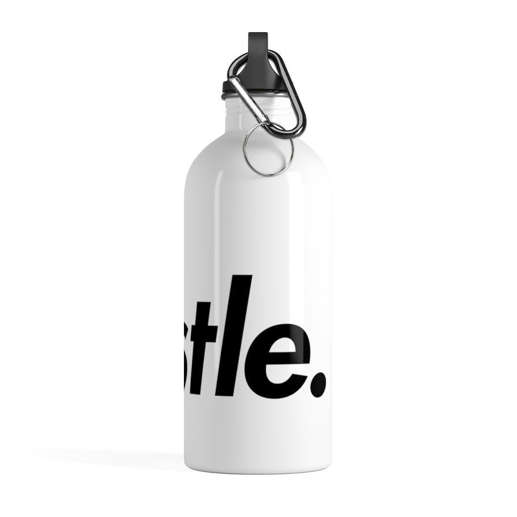 [ HUSTLE. ] STAINLESS STEEL WATER BOTTLE - Hustle Culture | Official Store