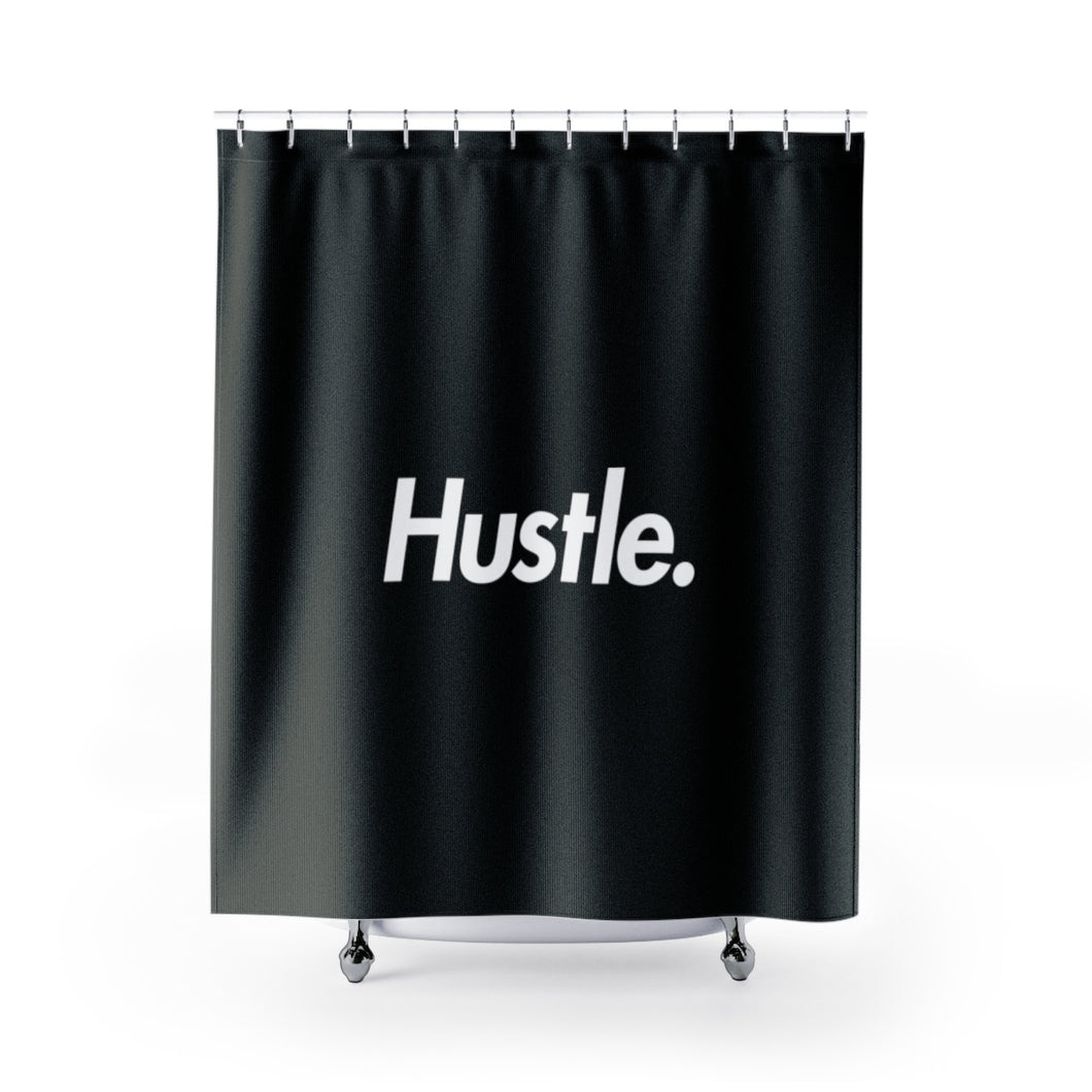 [ HUSTLE. ] SHOWER CURTAIN - Hustle Culture | Official Store