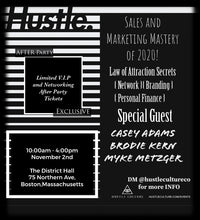Load image into Gallery viewer, [ HUSTLE CULTURE® CONFERENCE ] VIP TICKET - Hustle Culture | Official Store