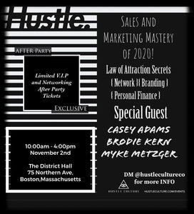 [ HUSTLE CULTURE® CONFERENCE ] VIP TICKET - Hustle Culture | Official Store