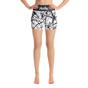 """CITY STEEZ"" HUSTLE. YOGA SHORTS - Hustle Culture 