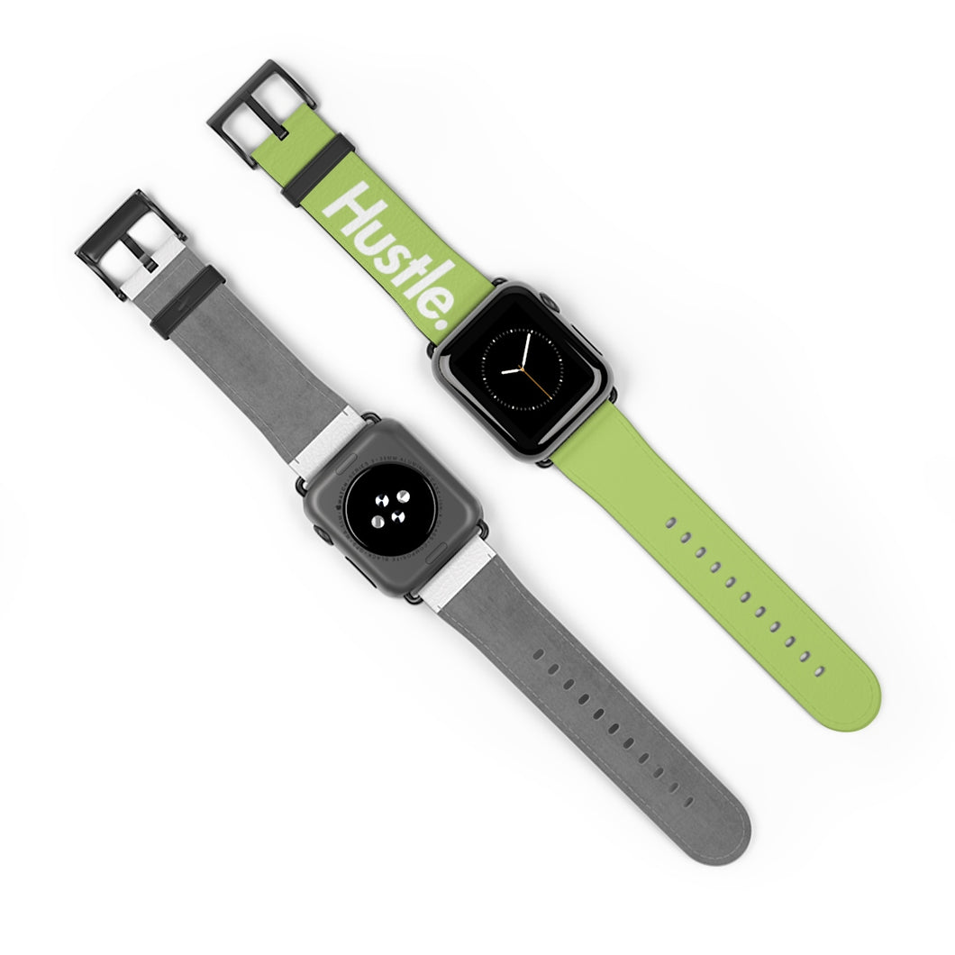 HUSTLE. WATCH BAND [ GREEN ] - Hustle Culture | Official Store