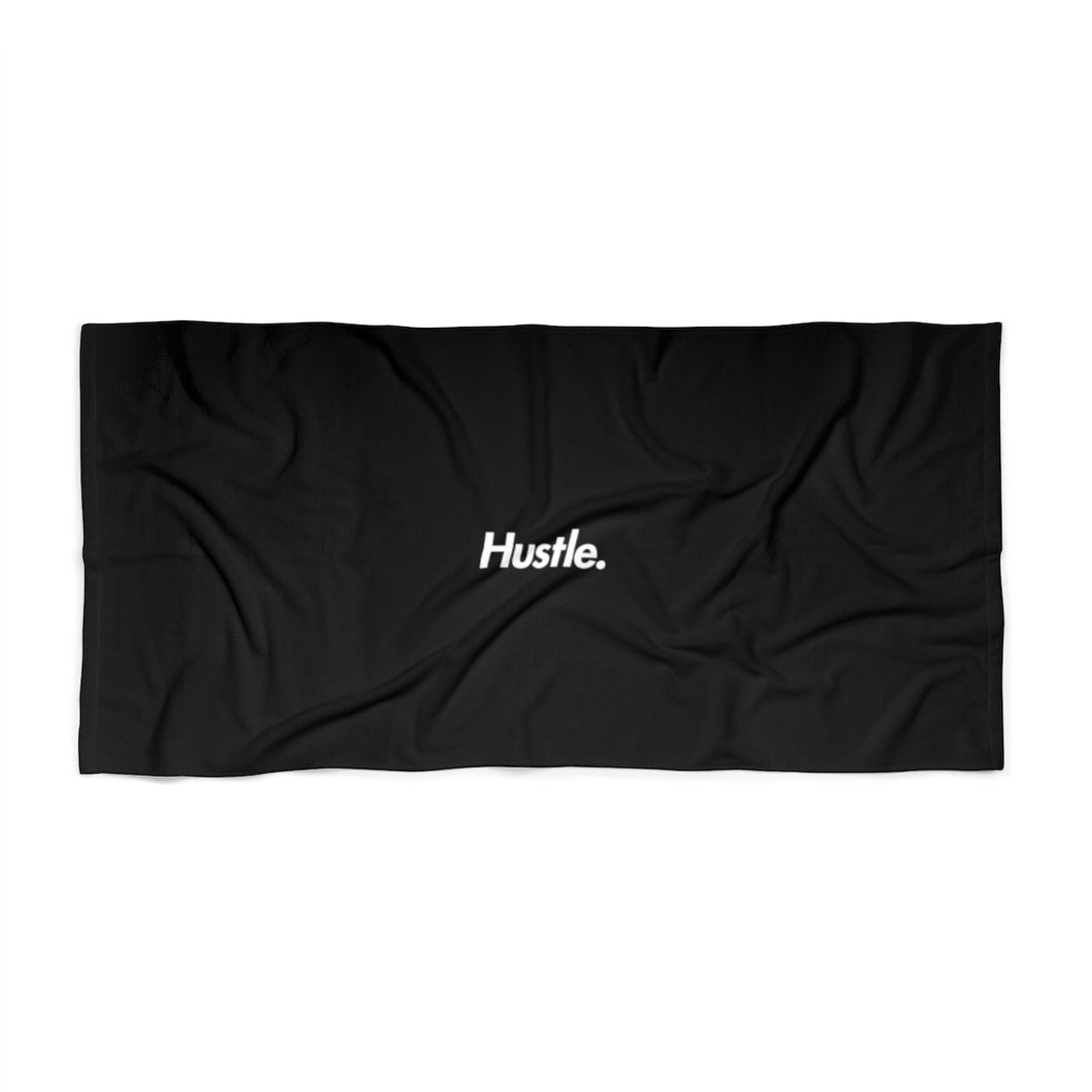 [ HUSTLE. ] BEACH TOWEL - Hustle Culture | Official Store