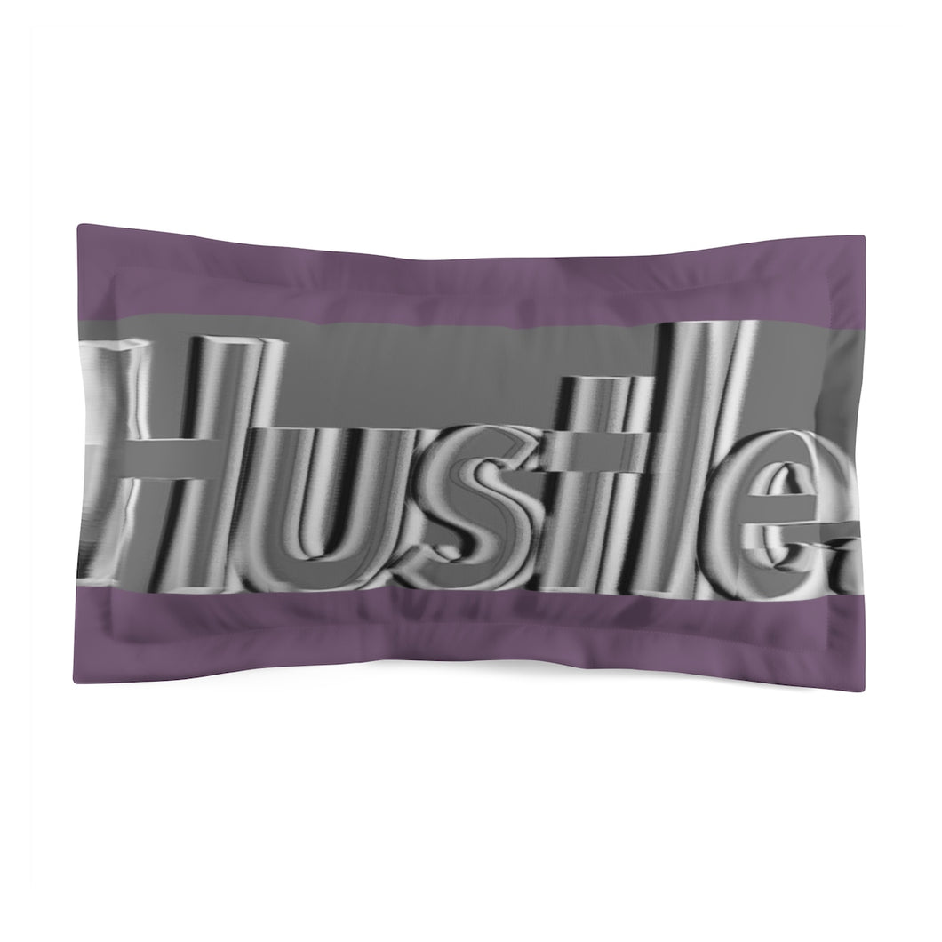 [ HUSTLE. ] MIDNIGHT PURPLE PILLOW SHAM - Hustle Culture | Official Store