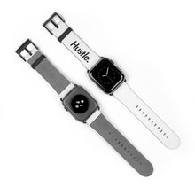 Load image into Gallery viewer, HUSTLE. WATCH BAND [ WHITE ] - Hustle Culture | Official Store