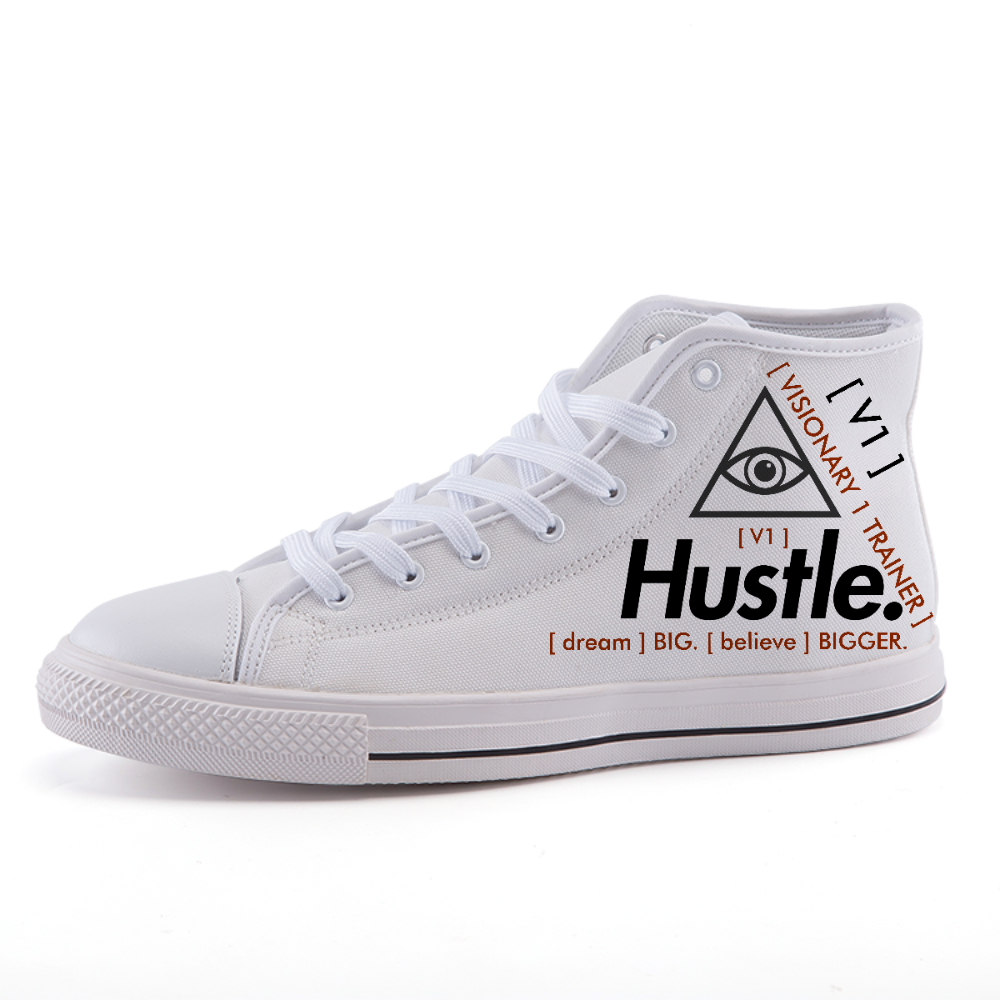 [ HUSTLE. ] VISIONARY 1 HIGH TRAINERS - Hustle Culture | Official Store