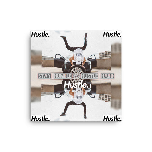 STAY HUMBLE // HUSTLE HARD 1.0 ON PREMIUM CANVAS - Hustle Culture | Official Store