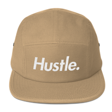 "Load image into Gallery viewer, ""HUSTLE. VIBES"" FIVE PANEL CAP - Hustle Culture 
