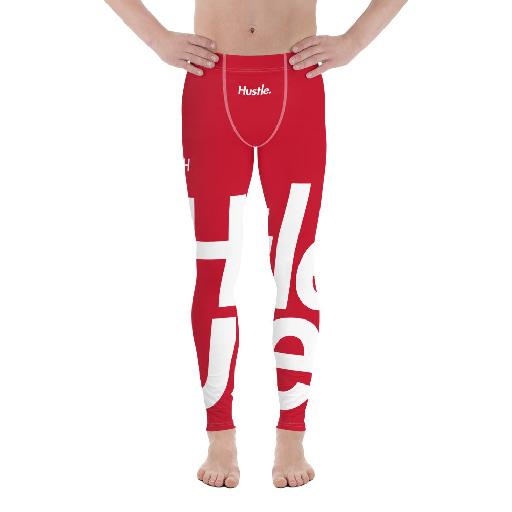 [ HUSTLE. ] SYNERGY RED LEGGINGS - Hustle Culture | Official Store