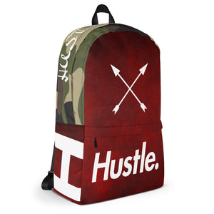 """CAMO DRIP"" HUSTLE. BACKPACK - Hustle Culture 