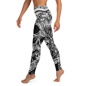 [ VISIONARY HUSTLE ] TRIBE YOGA LEGGINGS - Hustle Culture | Official Store
