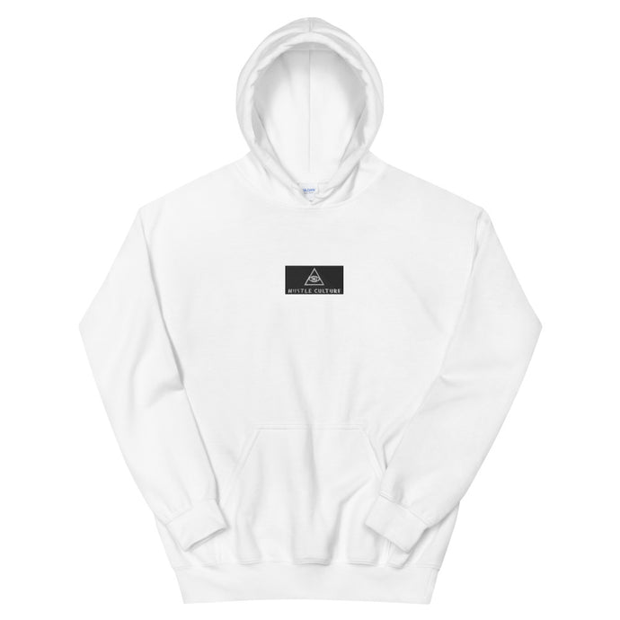 [ VISIONARY HUSTLE ] EMBROIDERED VINTAGE LOGO HOODIE - Hustle Culture | Official Store