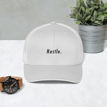 Load image into Gallery viewer, Hustle. Trucker Cap [ SMOKED OUT ]