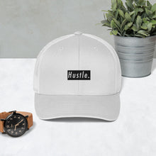 Load image into Gallery viewer, Hustle. Trucker Cap [ BLACK BOX ]