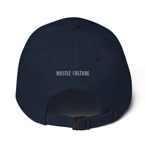 Hustle. Classic Dad Hat [ GREY BOX ]