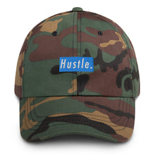 Load image into Gallery viewer, Hustle. Classic Dad Hat [ BABY BLUE ]
