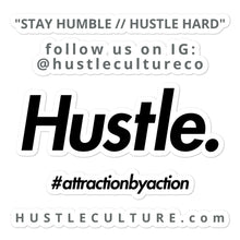 Load image into Gallery viewer, STAY HUMBLE // HUSTLE. HARD STICKER - Hustle Culture | Official Store