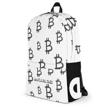 "Load image into Gallery viewer, ""BITCOIN BAG"" HUSTLE. BACKPACK - Hustle Culture 