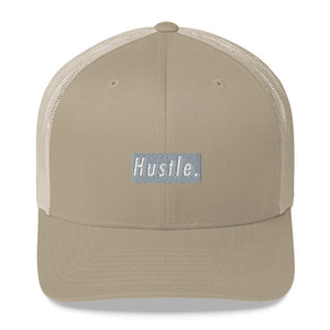 Hustle. Trucker Cap [ GREY BOX ]