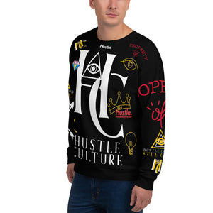 [ HC VISIONS ] VIP GRAFFITI CREWNECK - Hustle Culture | Official Store