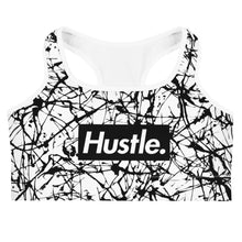 "Load image into Gallery viewer, ""CITY STEEZ"" HUSTLE. SPORTS BRA - Hustle Culture 