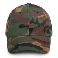 Load image into Gallery viewer, Hustle. Classic Dad Hat [ RED ]