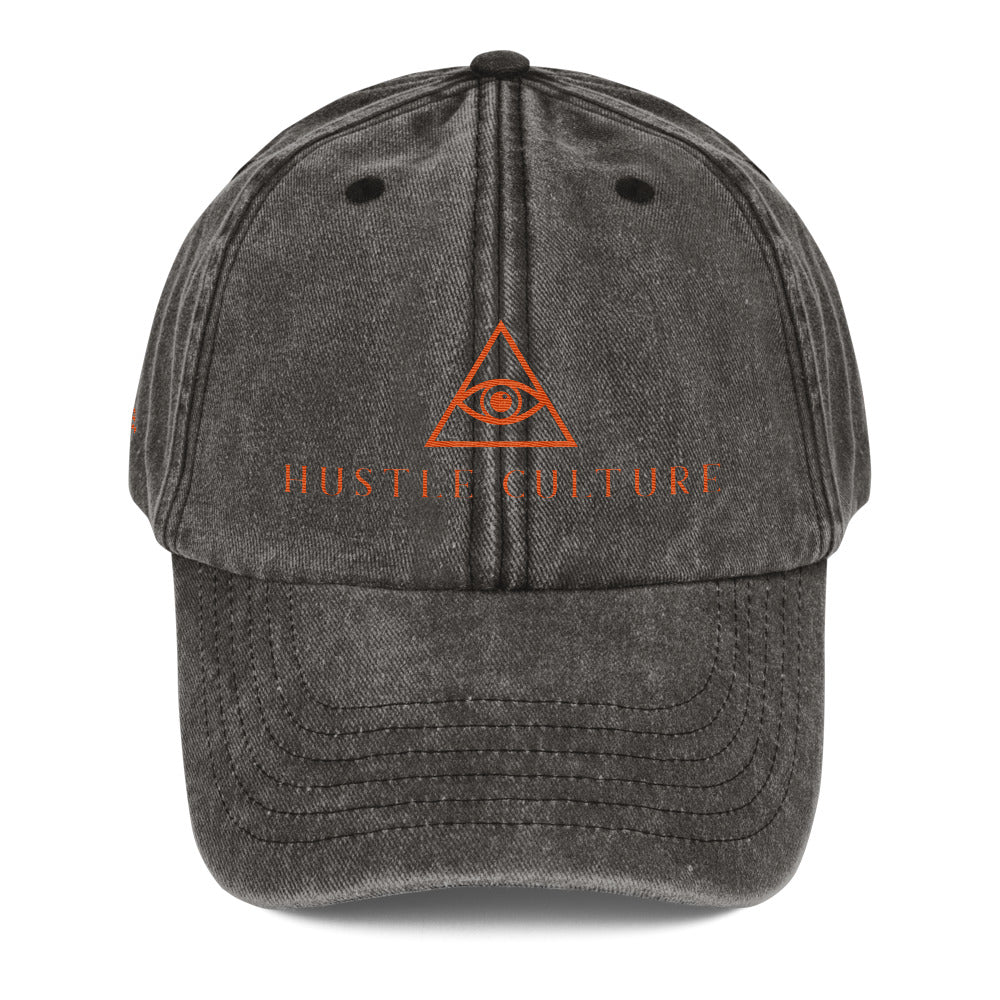 [ HIGH FREQUENCIES. ] VINTAGE FADED CITY CAP 1.0 - Hustle Culture | Official Store